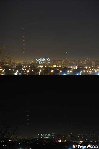 Earth hour la Baia Mare Foto: (c) Sorin Hotea