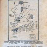 Harta unde se vede distanţa dintre localităţi în timpul războiului din 1877