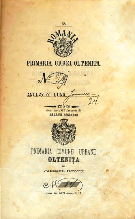 Tara Romaneasca: Asezarea de pe moșia OLTENIȚA MAI VECHE DE 1515