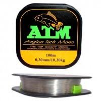 Fir Monofilament ATM 0.25mm| 100m| 7.2kg| Gri