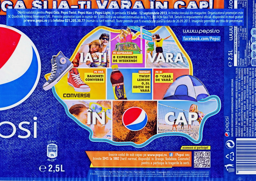 Pepsi, campioana mininosilor