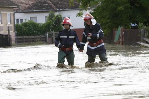 Inundatii la Pitesti
