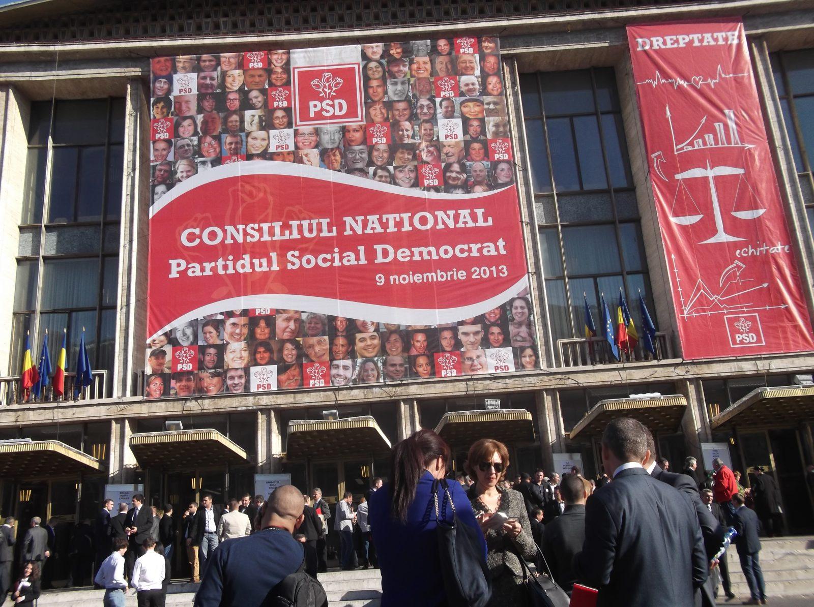 Consiliul National PSD 8-9 nov 2013