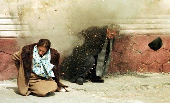 Ceausescu Nicolae si Ceausescu Elena împuşcati