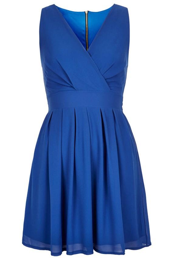 Karla. ro rochie Alesia albastru.