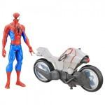 Jucarii LEGO figurina-cu-vehicul-spider-man-titan-hero-series-spider-man-cu-spider-cycle