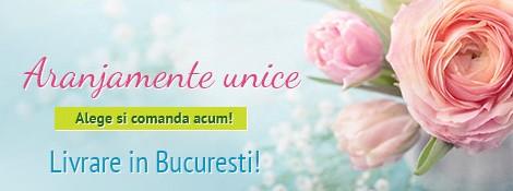 Floraria mobila, magazinul tau de flori din Bucureşti