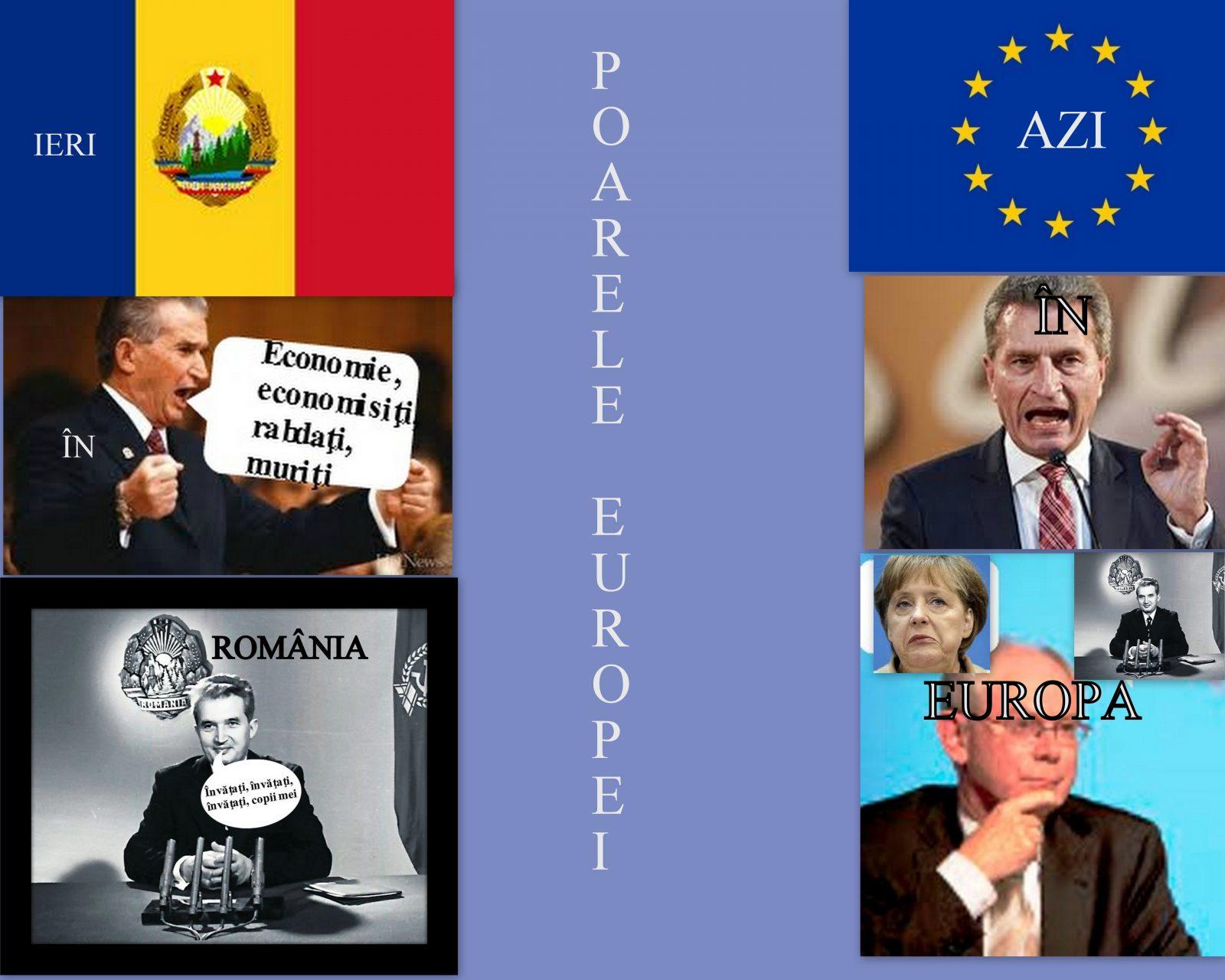Ceausescu model pentru UE