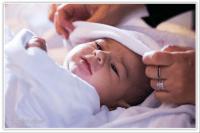 Cristi Neacsa, fotografii de botez