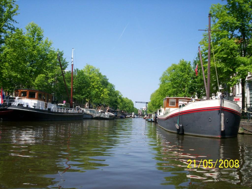 Amsterdam văzut de fiica mea în 2009