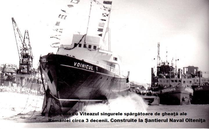 Oltenita a fost cel mai mare şantier naval fluvial din România