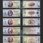 Bancnotele americane Amero