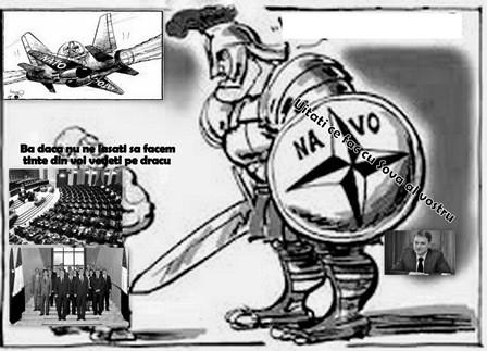 Nato , Şova, Parlamentul şi CCR, cercul vicios!