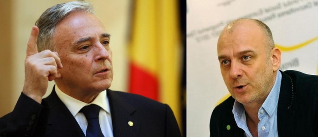 Mugur Isarescu si Dumitru Costin declara oficial România colonie