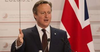 David Cameron: Mai mult de un milion de straini vor fi exclusi de la vot la referendumul pt UE. Photo: Stefan Rousseau/PA Wire