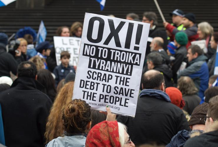 Grecia poate schimba viitorul UE. Sursa foto  ibtimes.com