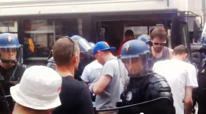 Lovitura de stat eșuată de  la Paris © Capture d'écran d'une vidéo youtube d'agenceinfolibre