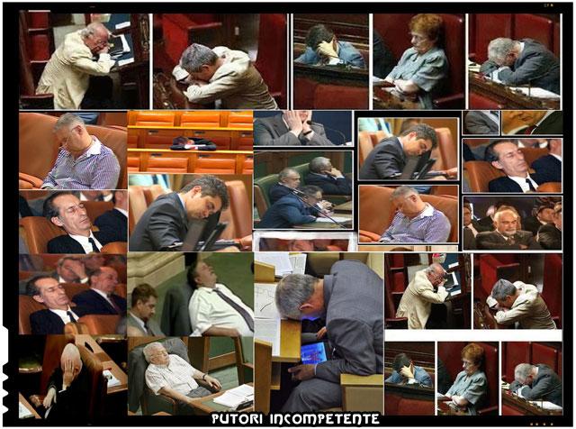 Parlamentari tăcuți în parlamentul României Sursa foto Vremea Nouă