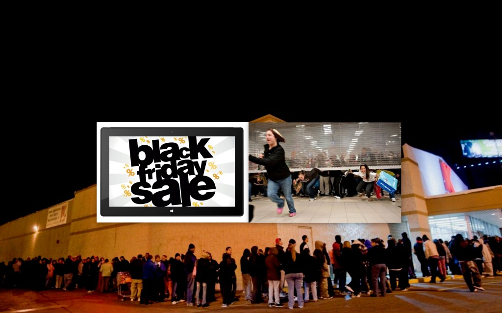 Black Friday bucurie si nebunie