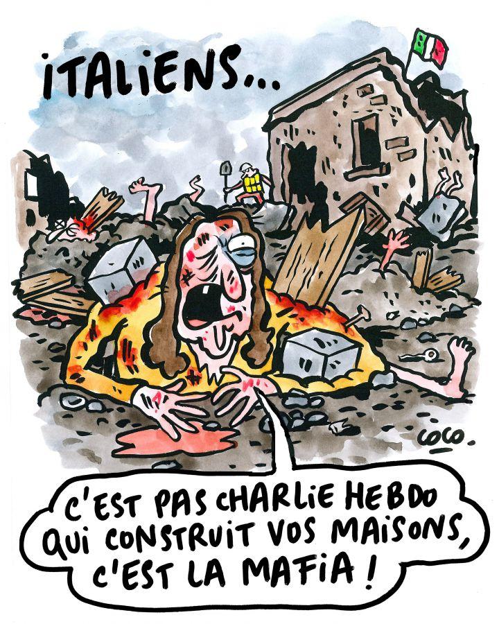 Nu Charlie Hebdo vă va construi case ci mafia!