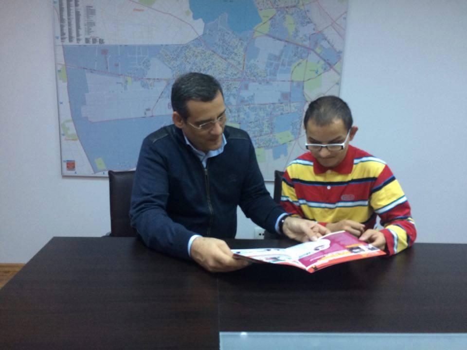 Primarul Sectorului 6, Gabriel Mutu alături de Presedintele Asociatiei MicNews.ro Mihai Caldararu
