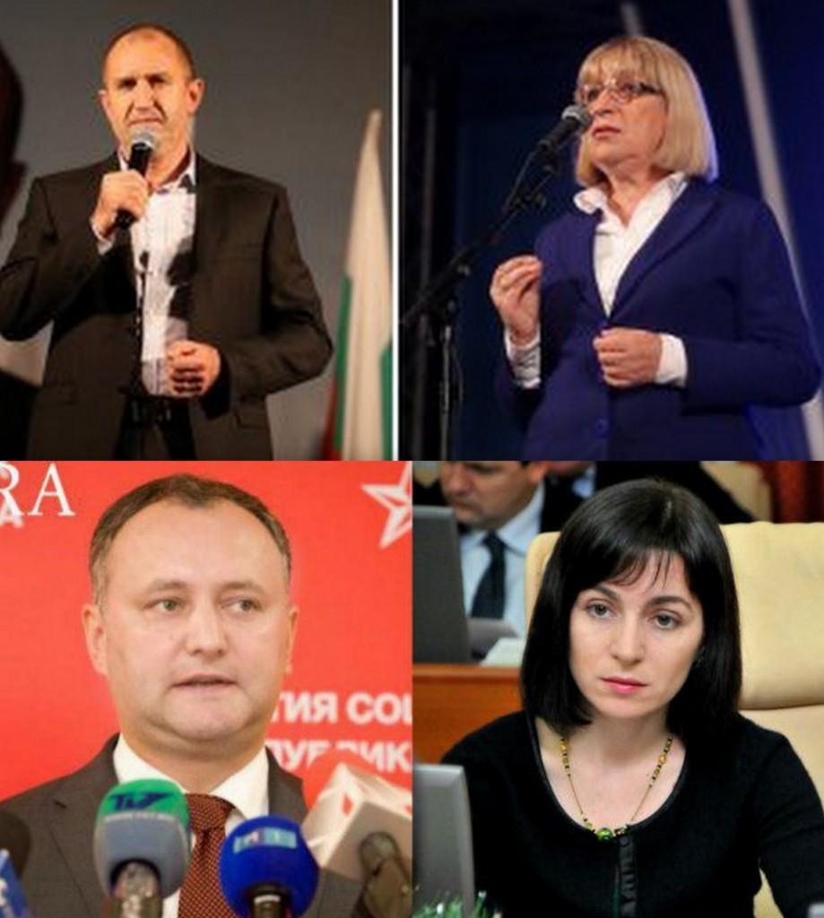 Alegeri in Bulgaria şi Moldova. Cei patru candidaţi de astăzi