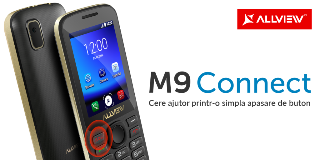 Allview lanseaza un feature phone cu buton SOS