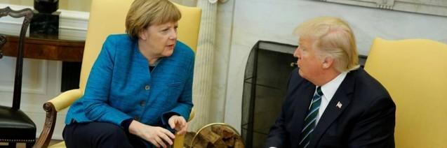 Europa a gasit o directie? Merkel între două opţiuni Putin şi Trump
