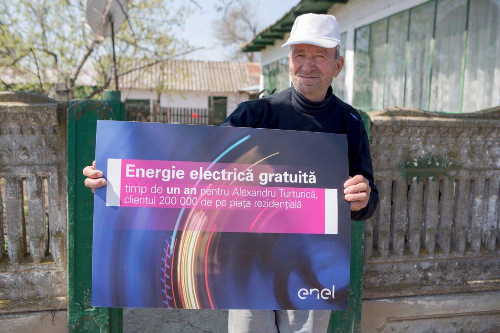 Furnizorul preferat de 200.000 de clienți rezidențiali de pe piața concurențială de energie electrică: Enel