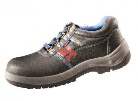 Pantofii de protectie cu bombeu metalic iti apara picioarele