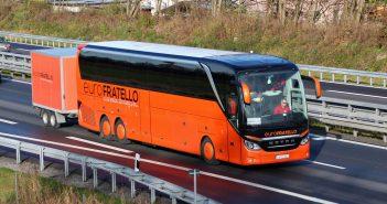 Calatorind cu autocarul la Calais