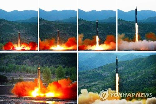 Coreea de Nord a lansat o rachetă sursa french.yonhapnews.co.kr