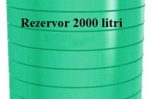Case de vacanta in pustietate Rezervor 2000 litri
