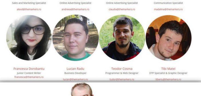 Succes in afaceri cu specialişti în publicitate online. Echipa de laThe Markers Consult