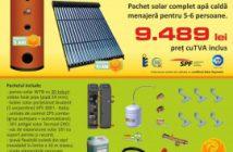 Alege sa iti produci apa calda menajera cu ajutorul panourilor solare