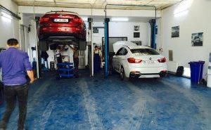 Un service profesionist pentru autoturisme de top