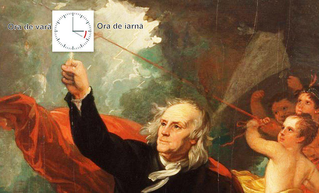 Benjamin Franklin si ora de iarnă