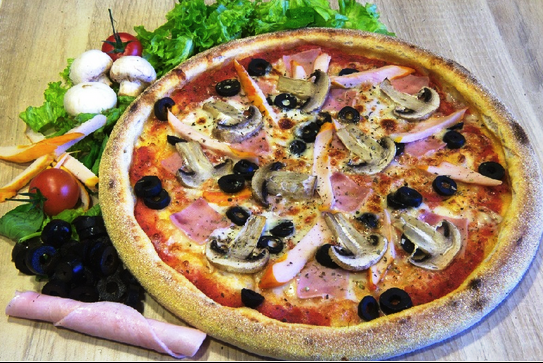 Zeci de sortimente de pizza la Gambino's