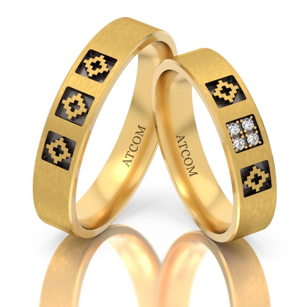 Idei de gravare a verighetelor din aur