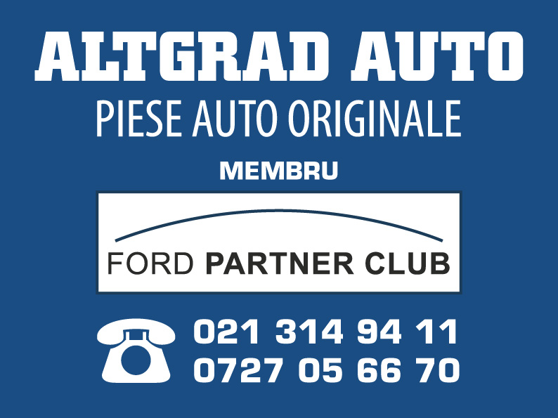 AltGrad lanseaza noul website dedicat piese auto FORD