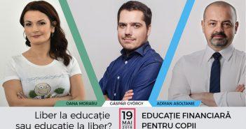 Prima conferință de educație financiară pentru părinți