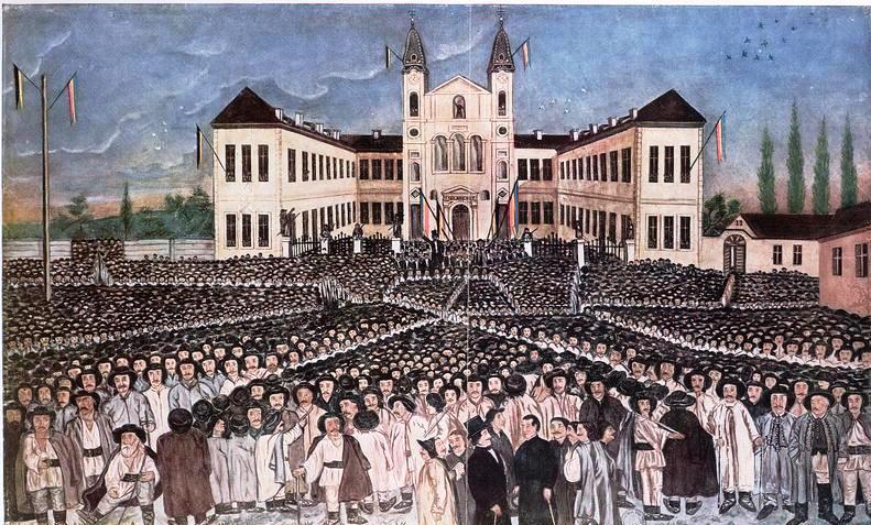 Politica faptului implinit Adunarea de la Blaj 1848