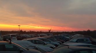 Parcarea perfecta pentru masina mea, cand eu voi fi pe acoperisul lumii