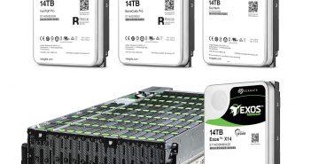 Seagate prezintă cel mai avansat portofoliu de stocare 14TB din industrie