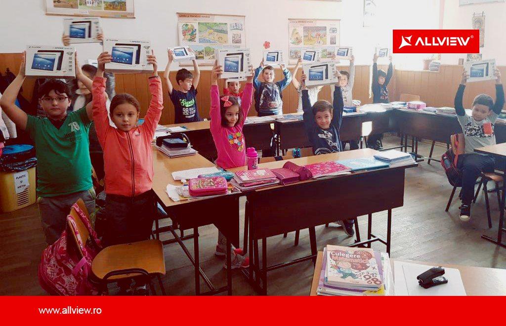 Program educațional de smart learning, susținut de Allview
