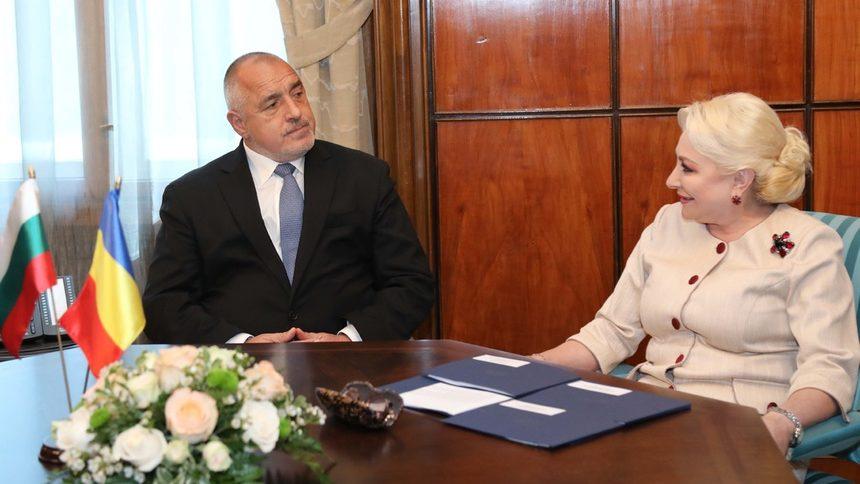 Borisov a discutat la București cu premierul român, Viorica Dancila sursa foto www.dnevnik.bg